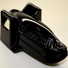 Black Molded Plastic
