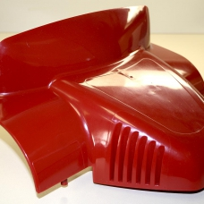 Red Plastic Cover